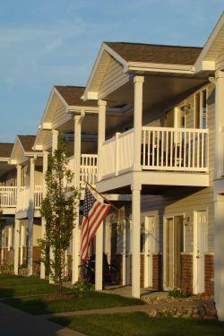 Cobblestone Ridge Apartments Facade